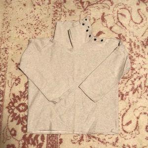Zara Button Neck Sweater